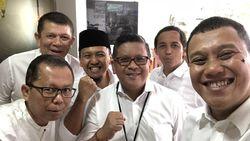 Tes Kesehatan, Jokowi-Maruf Didampingi 8 Sekjen Parpol Koalisi