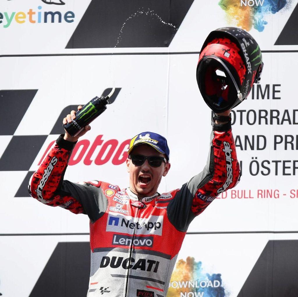 Juara di MotoGP Austria, Lorenzo: Salah Satu Kemenangan Terbaikku