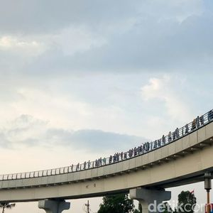 LRT Palemba   ng, Proyek Rp 10 T yang Mogok 3 Kali