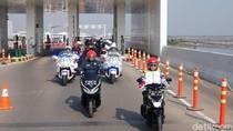 Menhub dan Menlu Naik Motor Saat Kunker di Semarang