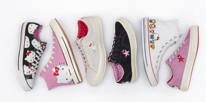 Converse Rilis Sneakers Buat Kamu Penggemar Hello Kitty c0bb70cc22