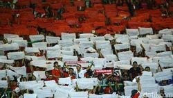 Indonesia vs Palestina: Suporter Timnas Ayo Merahkan Stadion Patriot!