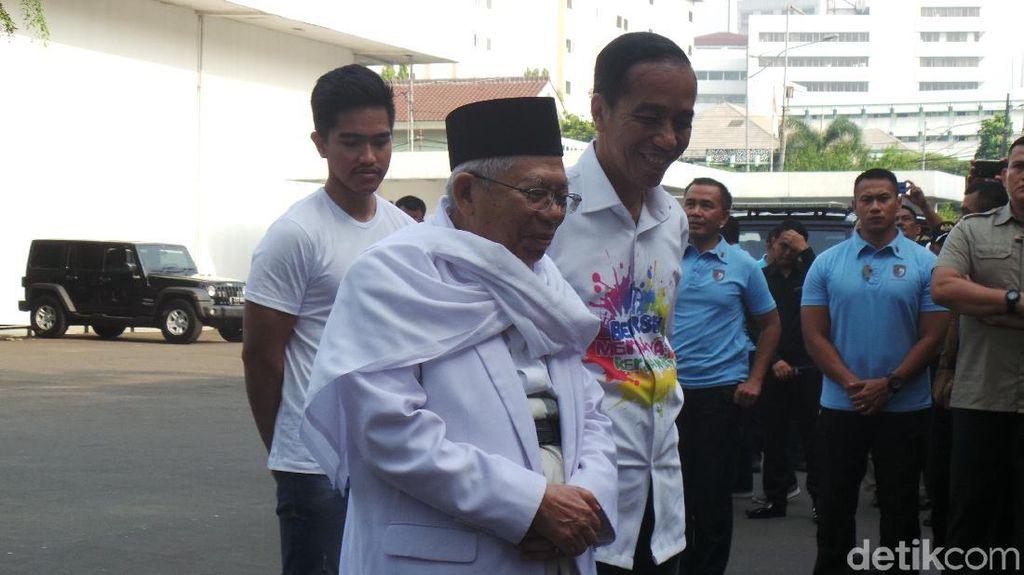 Hari Ini Tes Kesehatan, Ini Makanan Favorit Jokowi hingga Maruf Amin