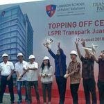 CT Tutup Atap Kampus LSPR di Bekasi