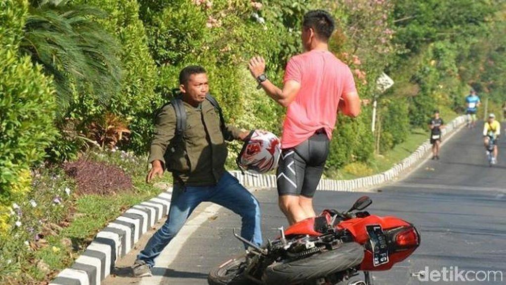 Ini Komentar Risma Soal Peserta Surabaya Marathon dan Biker Adu Bogem