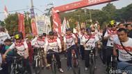 Bersepeda Bareng Warga Banten, Wiranto Berpesan Tentang Persatuan