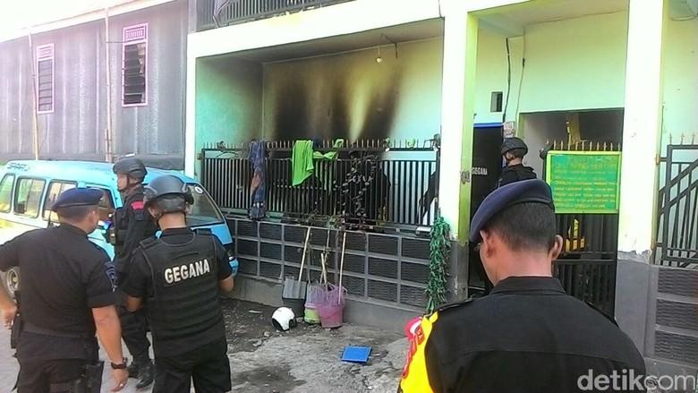 Ledakan di Indekos, 1 Warga di Makassar Terluka