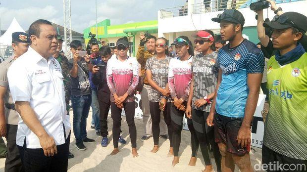CdM Indonesia Tengok Kesiapan Atlet Asian Games di Jakabaring