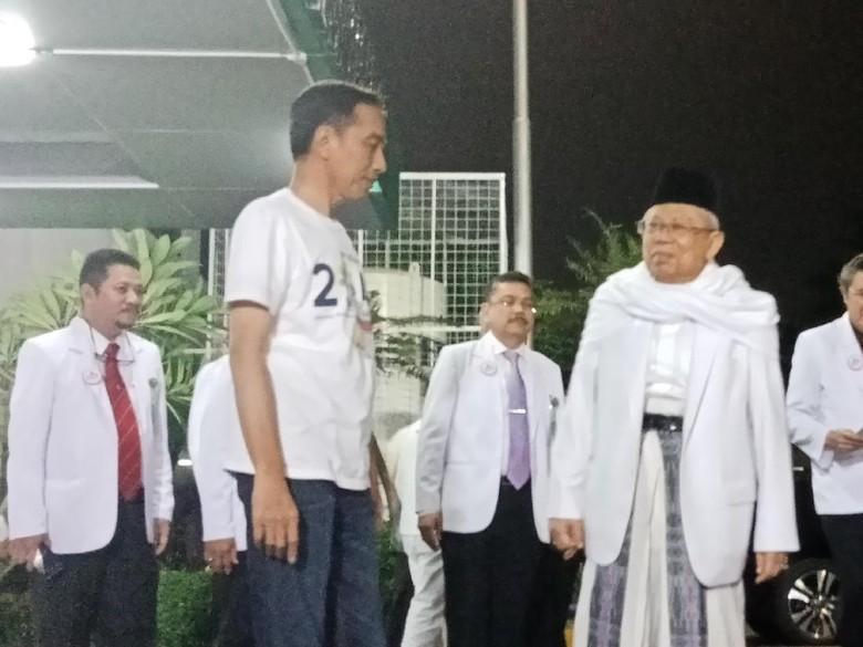 Usai 12 Jam Tes Kesehatan, Ma'ruf Amin: Lebih Lelah Ibadah Haji