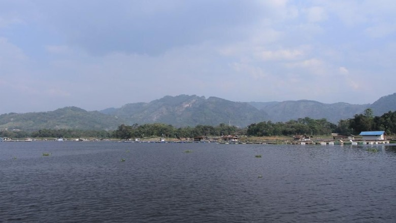 Foto: Wisata Waduk Saguling di Bandung Barat (Wisma Putra/detikTravel)