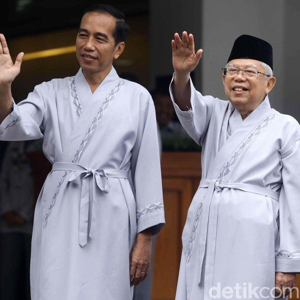 LSI: Maruf Bikin Pemilih Nonmuslim dan Milenial Tinggalkan Jokowi