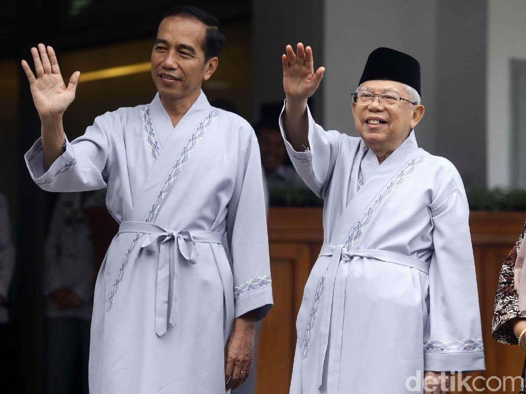 Minus Ketua, Ini Daftar Lengkap Timses Jokowi-Maruf