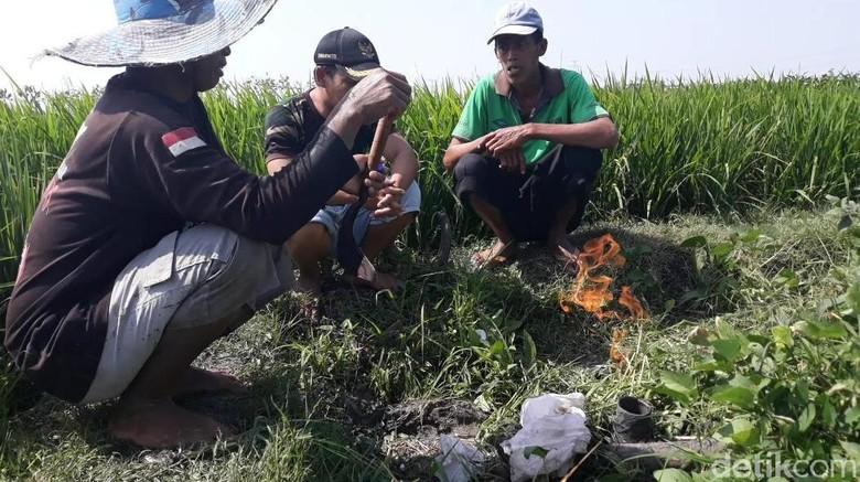 Semburan Air di Ngawi Berhenti, Namun 2 Titik Gas Baru Muncul