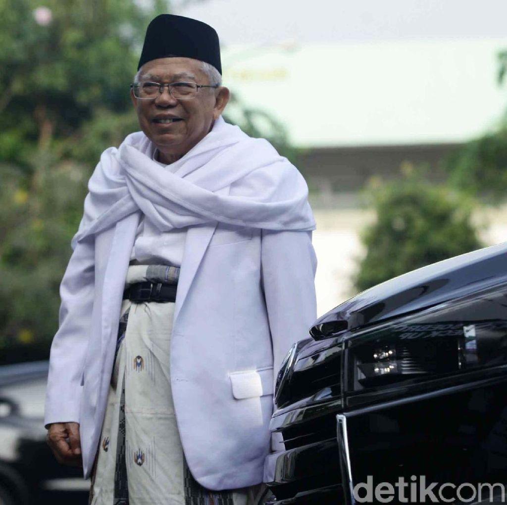 MUI Jabar Nilai Maruf Amin Boleh Rangkap Jabatan