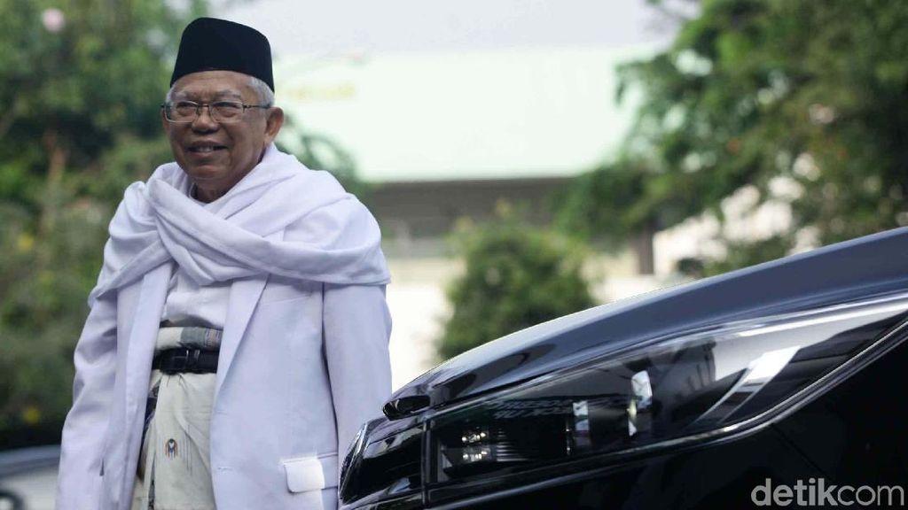 Resmikan Rumah KMA, Maruf Amin Jelaskan Rencana Jika Jadi Wapres