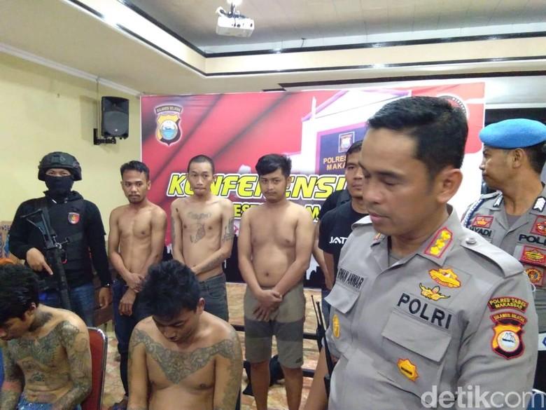Pembunuh 1 Keluarga di Makassar Diperintah Bandar Narkoba di Lapas