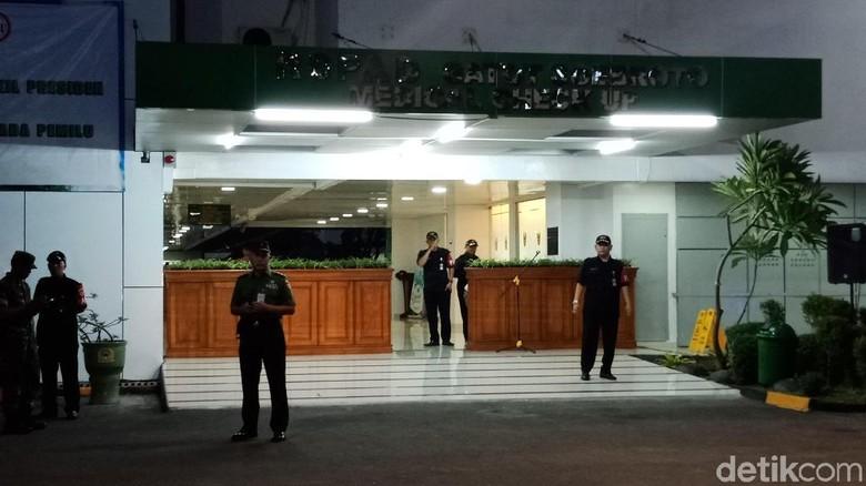 Jelang Tes Kesehatan Jokowi-Ma'ruf, Begini Situasi RSPAD