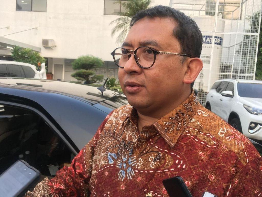 Dipolisikan PSI, Fadli Zon: Masalah Enteng