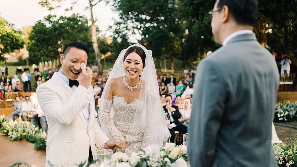 Intip Pernikahan Mewah Keponakan Prabowo dengan Wanita Keturunan Jepang