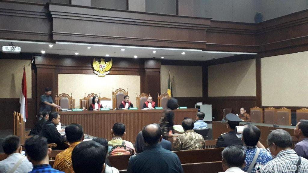 JK Bersaksi, Sidang PK Jero Wacik Dimulai