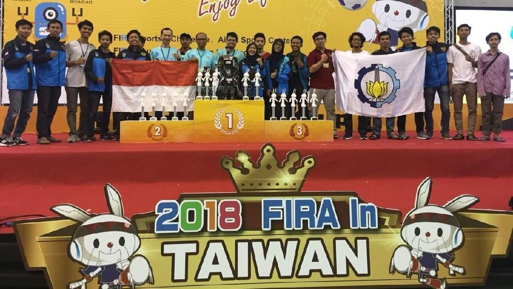 Alhamdulillah! Indonesia Borong Piala di Kejuaraan Robot Dunia