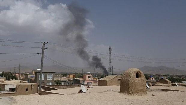 Puluhan Penumpang Bus Afghansitan Disandera Taliban