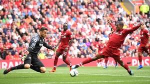 Wijnaldum Geli Baca Rumor Tak Betah di Liverpool