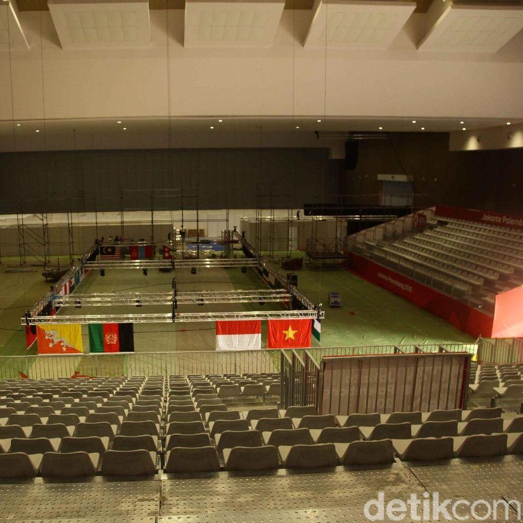 Asian Games Sudah Dekat, Venue di JIEXPO Kemayoran Belum Beres