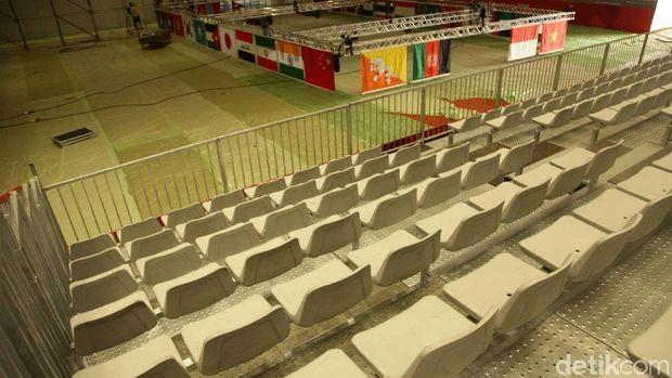 Venue Wushu Untuk Asian Games  Di Jiexpo Kemayoran