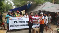 Bukit Asam Salurkan Sembako hingga Genset ke Korban Gempa Lombok