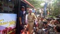 BRT Trans Jateng Koridor I Purwokerto-Purbalinga Diluncurkan