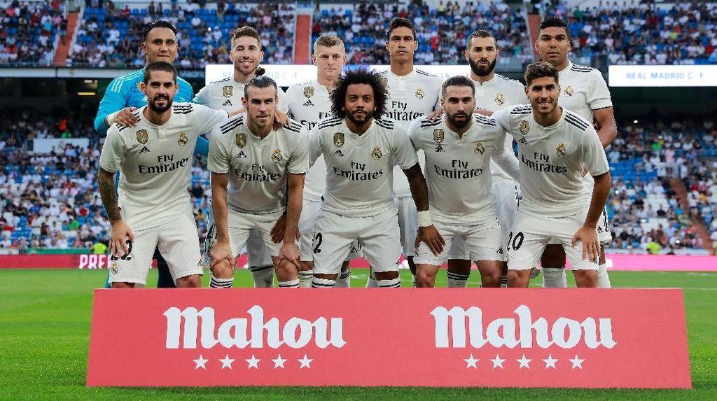 Upaya Real Madrid Mengawali Musim dengan Trofi