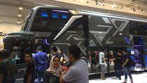 Perut Bus Ini Bisa Menampung 4 Motor Skutik