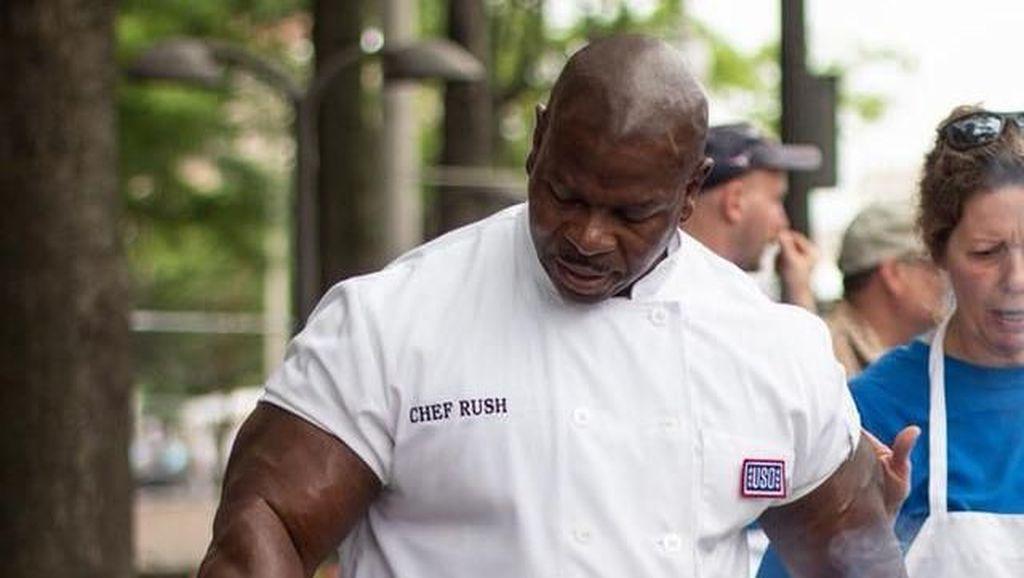 Potret Andre Rush, Koki Donald Trump yang Viral karena Otot Kekarnya