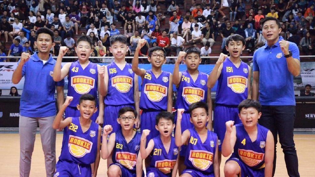 Para Pebasket Muda Indonesia Ini Ikut Turnamen di Thailand