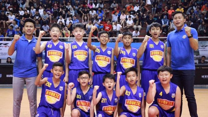 Tim DBL Academy Indonesia ikut turnamen di Thailand (dok.DBL Indonesia)