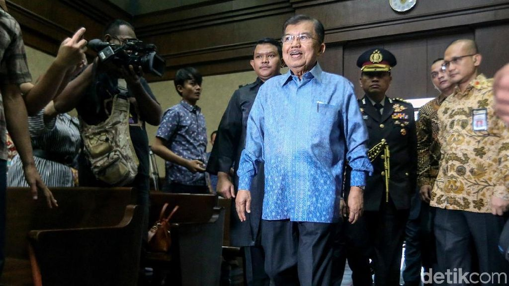 Jusuf Kalla Bersaksi di Sidang PK Jero Wacik