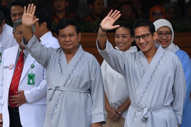 Survei Alvara: Prabowo-Sandiaga Hanya Unggul di Sumatera