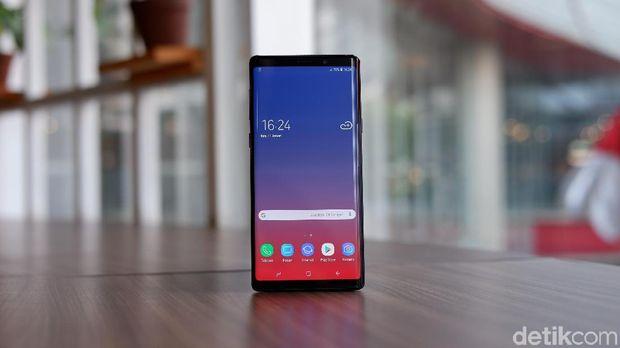 Galaxy Note 9 Punya Layar Terbaik di Dunia