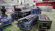 INASGOC Minta Vendor Nakal Tanggung Jawab Peralatan Telat