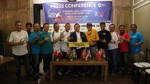 250 Vespa Matik Siap Kawal Kirab Obor Asian Games 2018