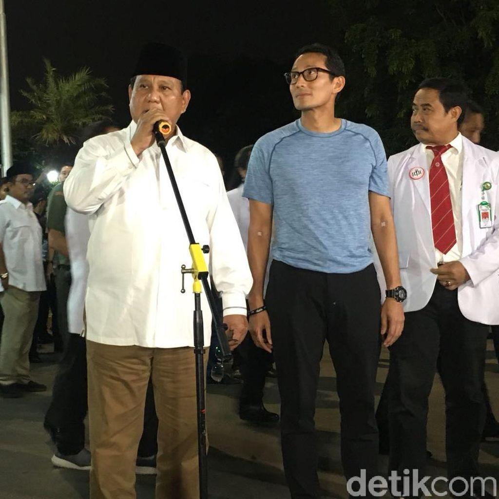 Prabowo Berkurban 27 Sapi di Sejumlah Lokasi