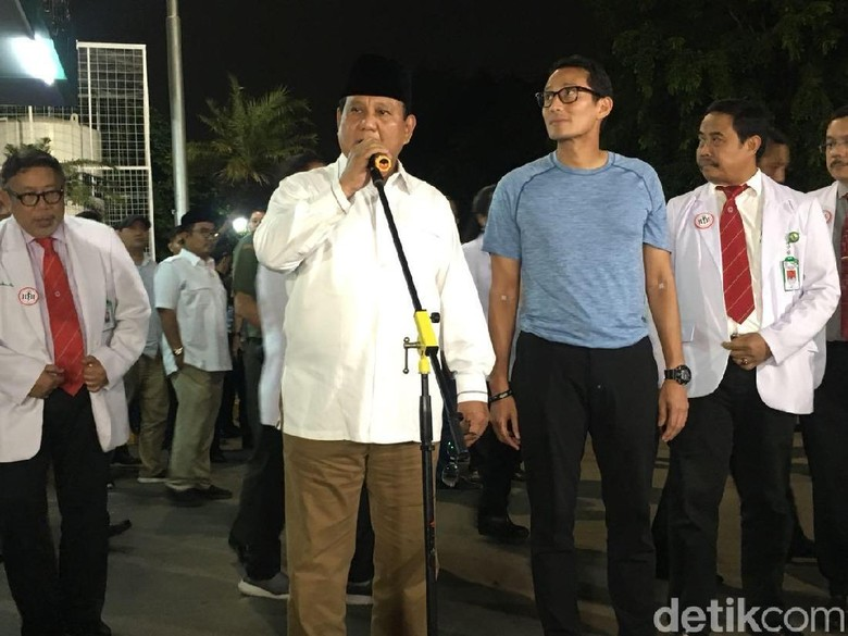 7 Jam Tes Kesehatan, Prabowo: Kalau Capek Nggak Boleh Ngaku