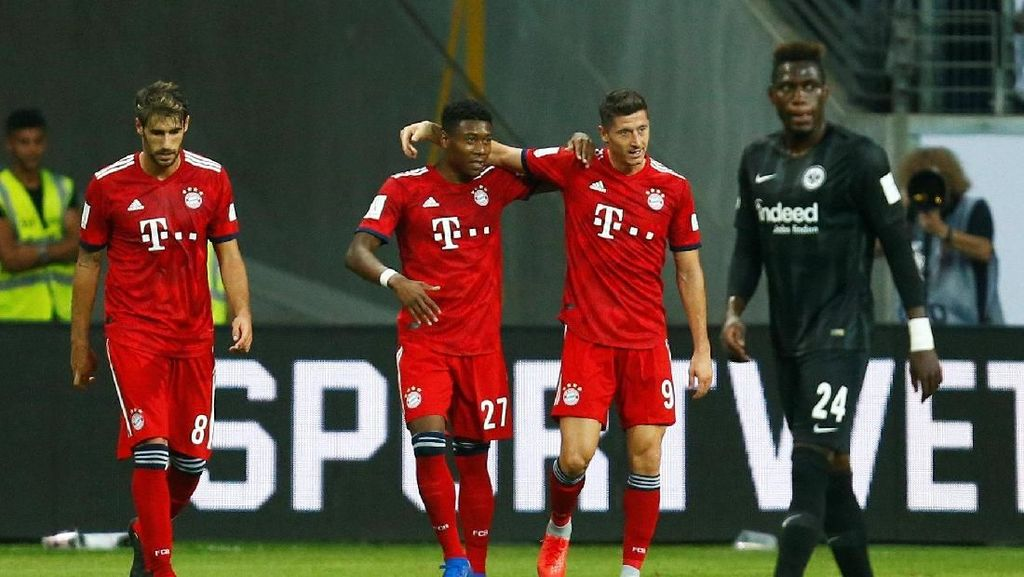 Lewandowski Hat-trick, Bayern Juara Piala Super Jerman 2018