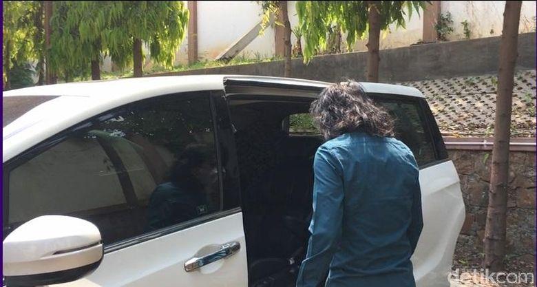 Abdee Slank saat di temui di Pengadilan Negeri Jakarta Selatan, pada Senin (13/8) lalu.