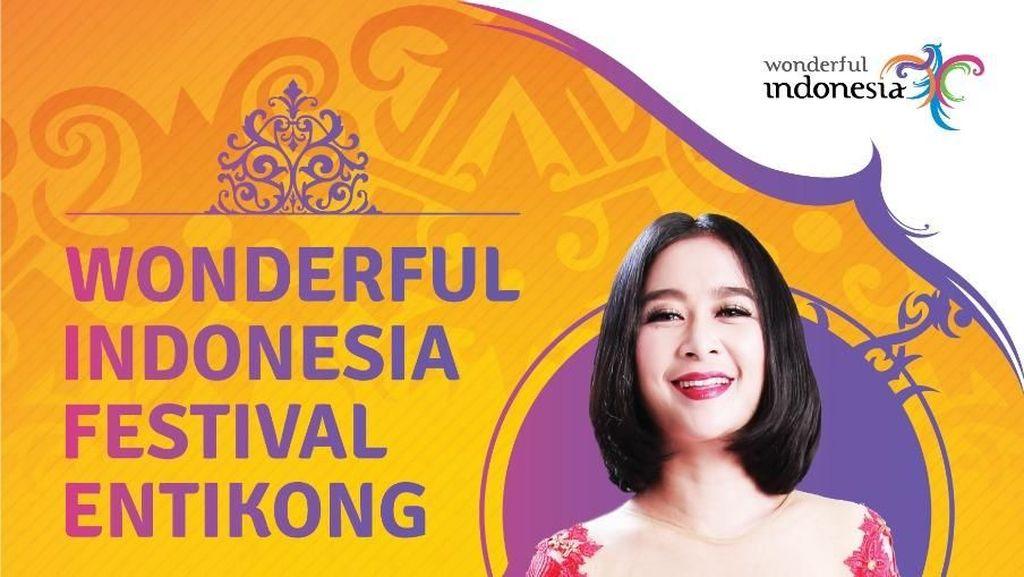 Uut Permatasari Siap Goyang Entikong di Wonderful Indonesia Festival