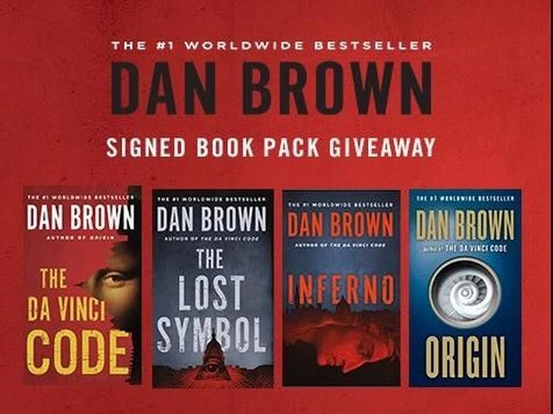 Edisi Terbaru Buku-buku Dan Brown Dicetak Ulang Lebih Misterius  Foto: Dan Brown/ Twitter