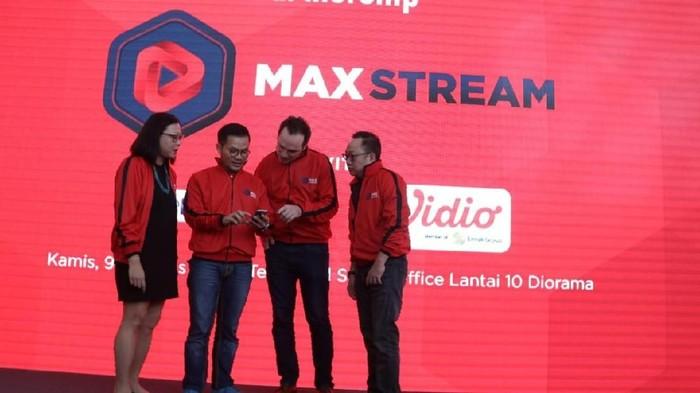 Foto: Telkomsel Geber Video Streaming Lewat MAXstream