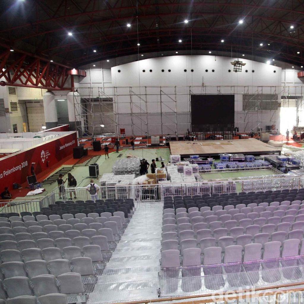 Jelang Asian Games, Venue Angkat Besi Kejar Tayang