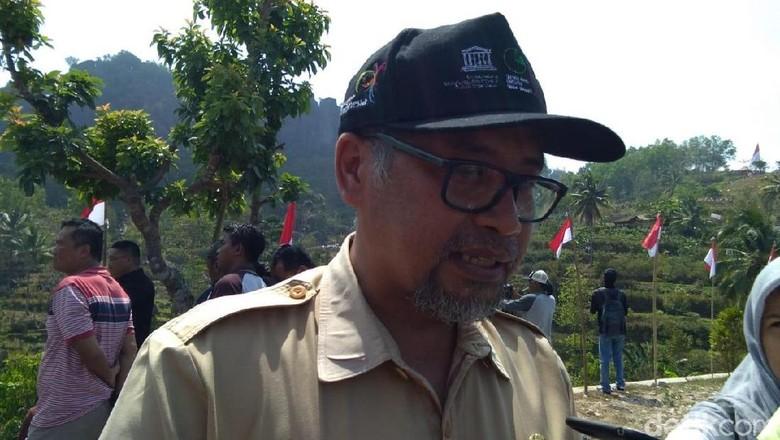 Sekretaris Dinas Pariwisata Gunungkidul, Hary Sukmono, Senin (13/8/2018).